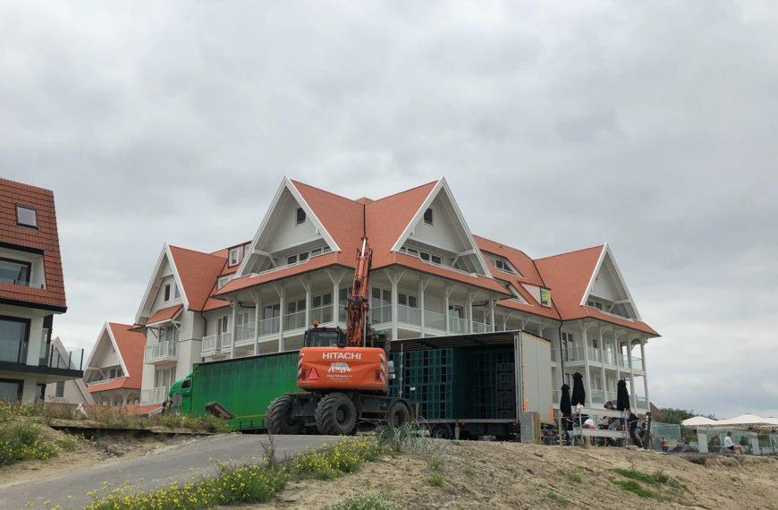 Projecten Logus GWW | HOTEL BLANKE TOP CADZAND